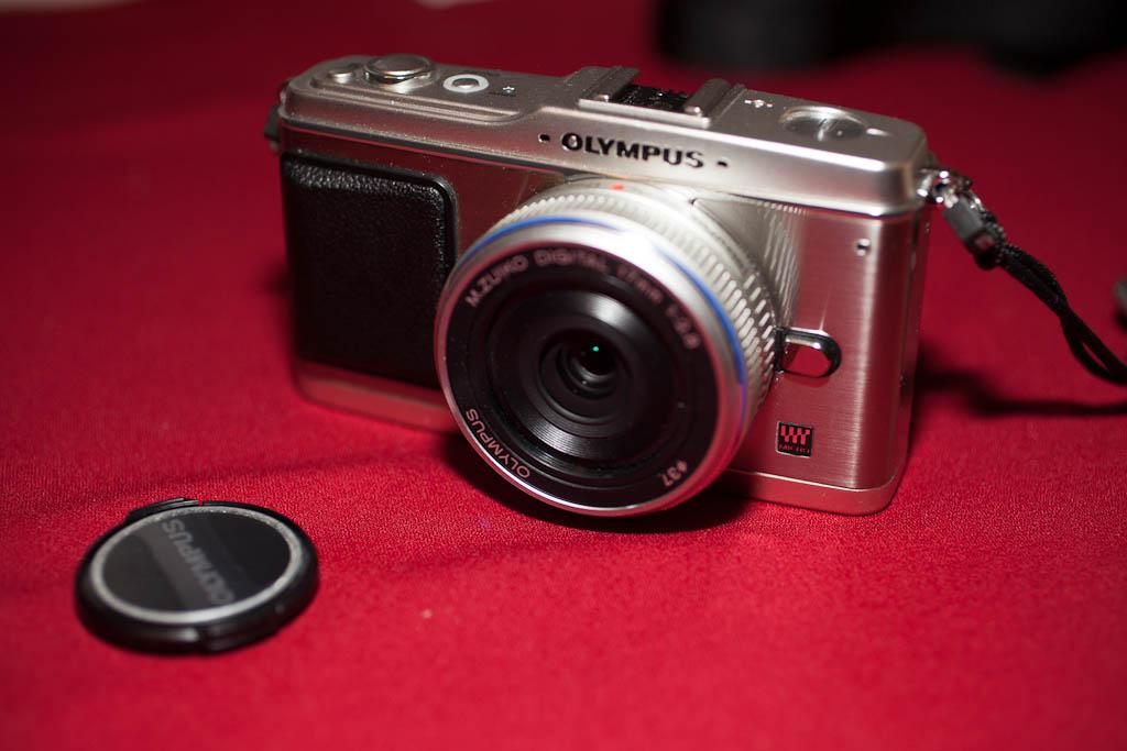 Olympus E-P1 camera